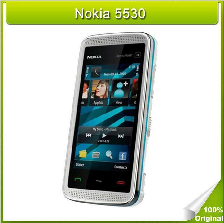 Unlocked nokia 5530 cell phones 3.0 inch touch screen 3 ...
