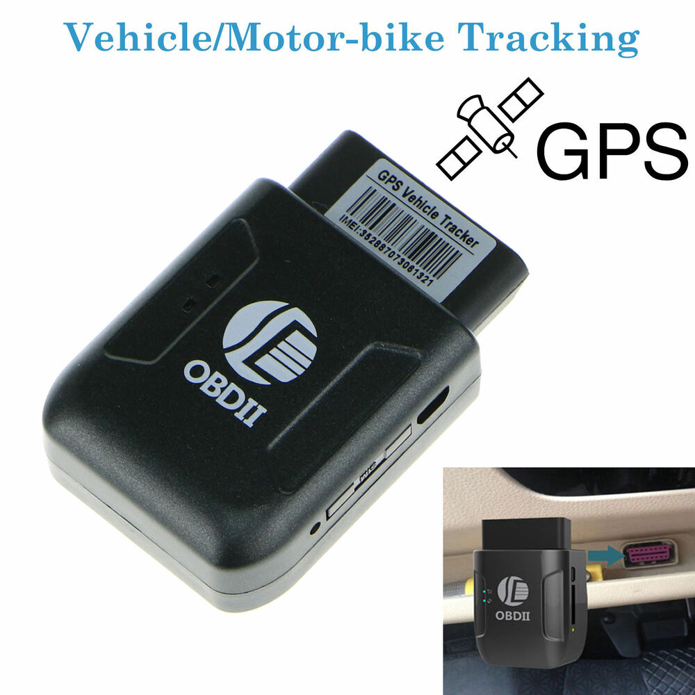 obd ii car vehicle truck gps realtime tracker mini obd2. Black Bedroom Furniture Sets. Home Design Ideas