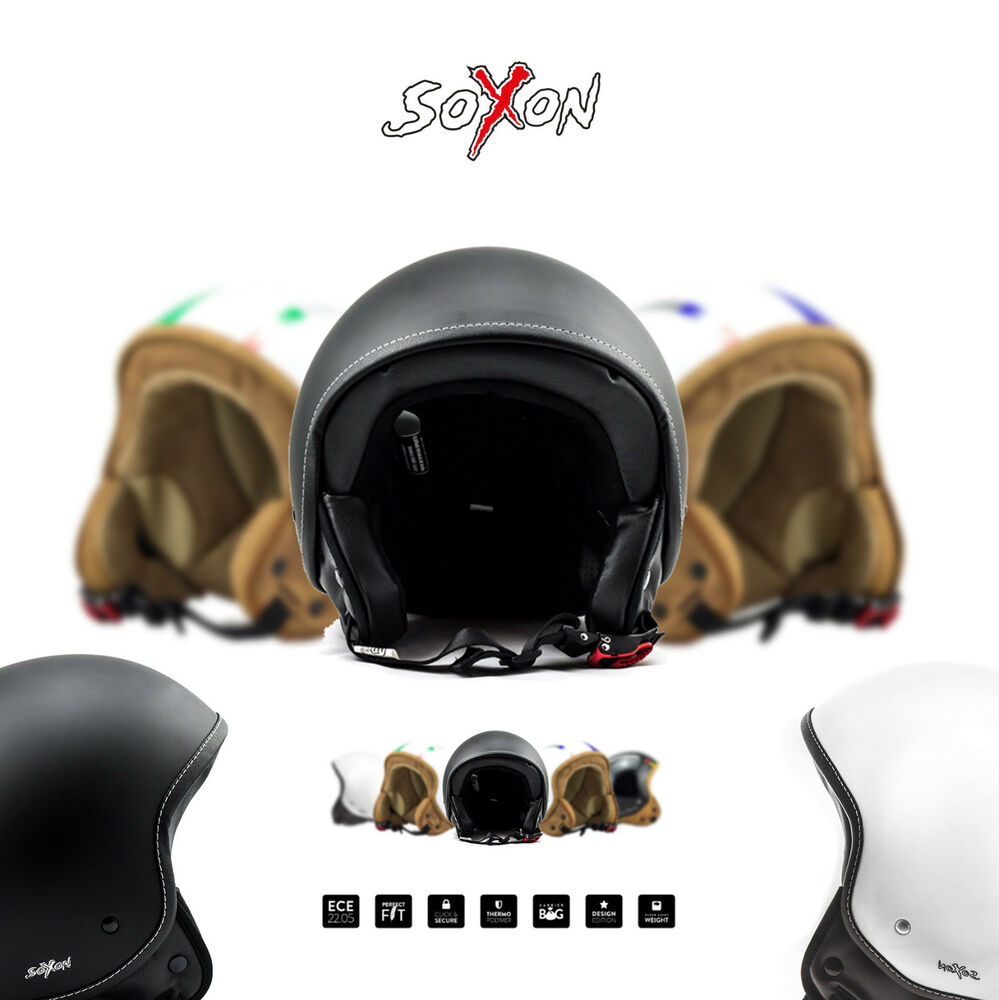 soxon sp 301 jet helm motorrad helm roller scooter helm. Black Bedroom Furniture Sets. Home Design Ideas