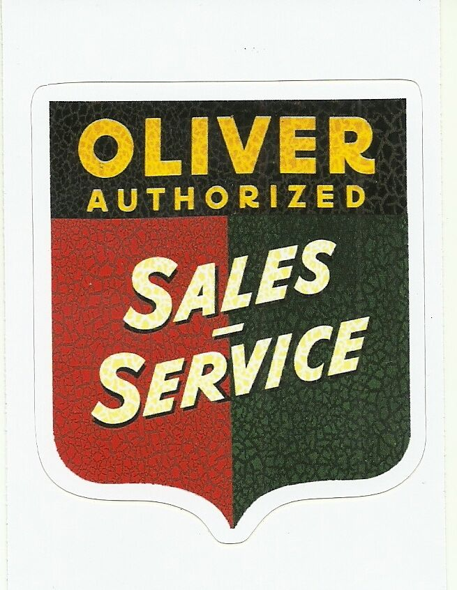 Oliver Tractor Decals : Oliver tractor sticker decal ebay