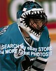 Brian HAYWARD San Jose SHARKS JAWS Mask CUSTOM Lab 8X10 SIMPLY AWESOME! L@@K !!!