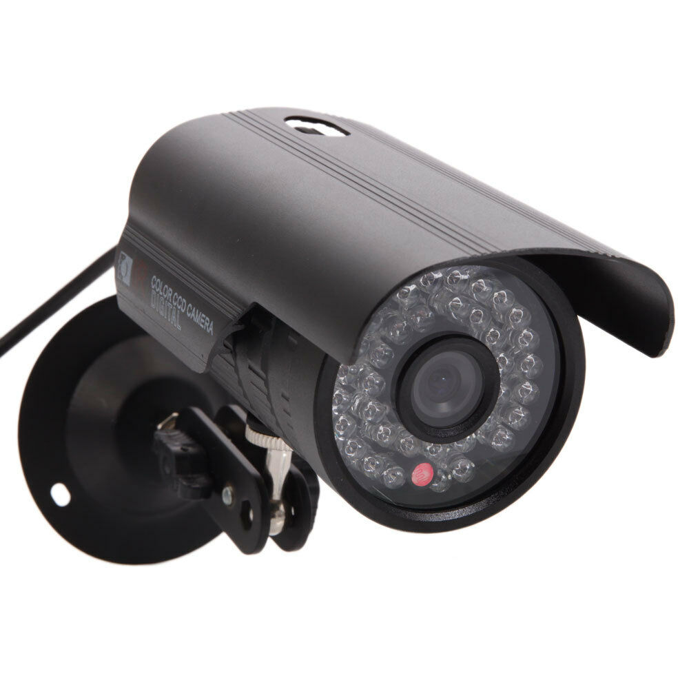 Exterior Home Security Cameras: 1200TVL HD Color Outdoor Home CCTV Security Camera 36LED