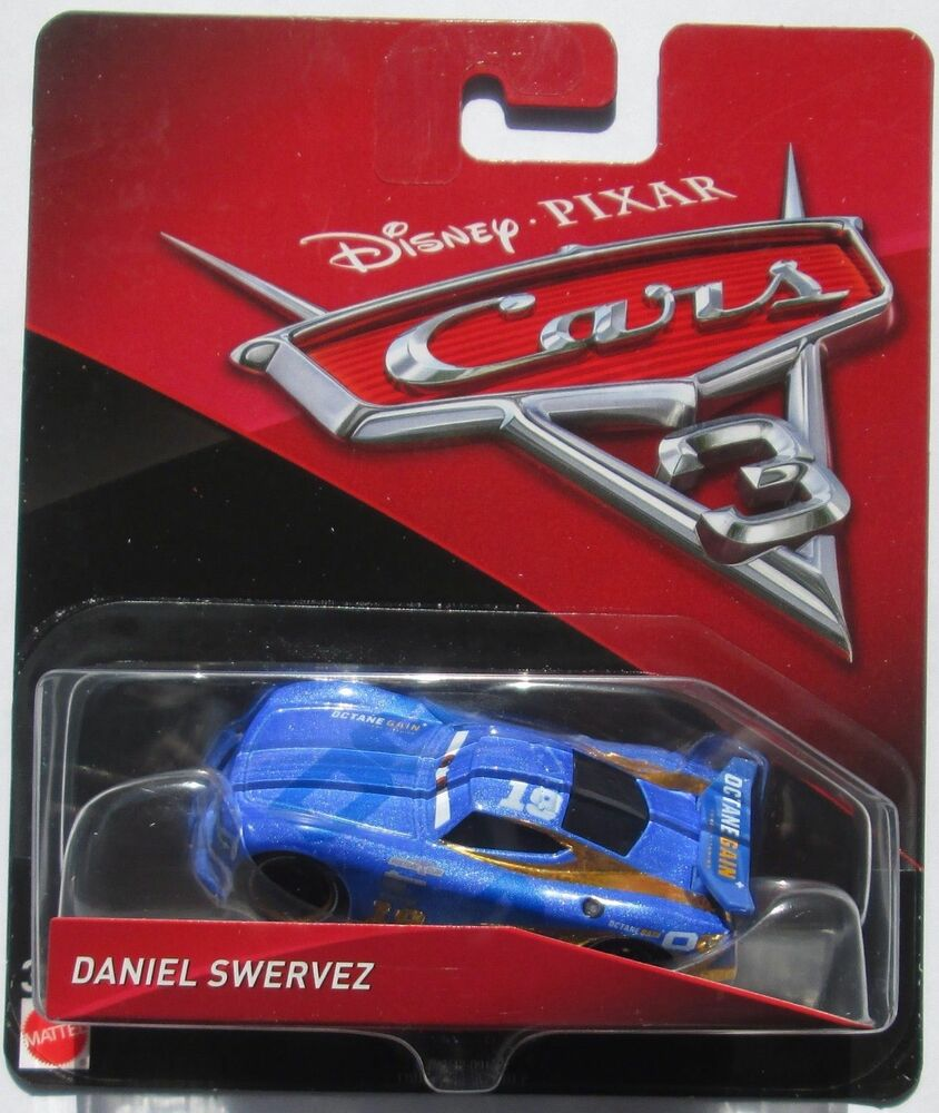 voiture disney pixar cars 3 daniel swervez ebay. Black Bedroom Furniture Sets. Home Design Ideas