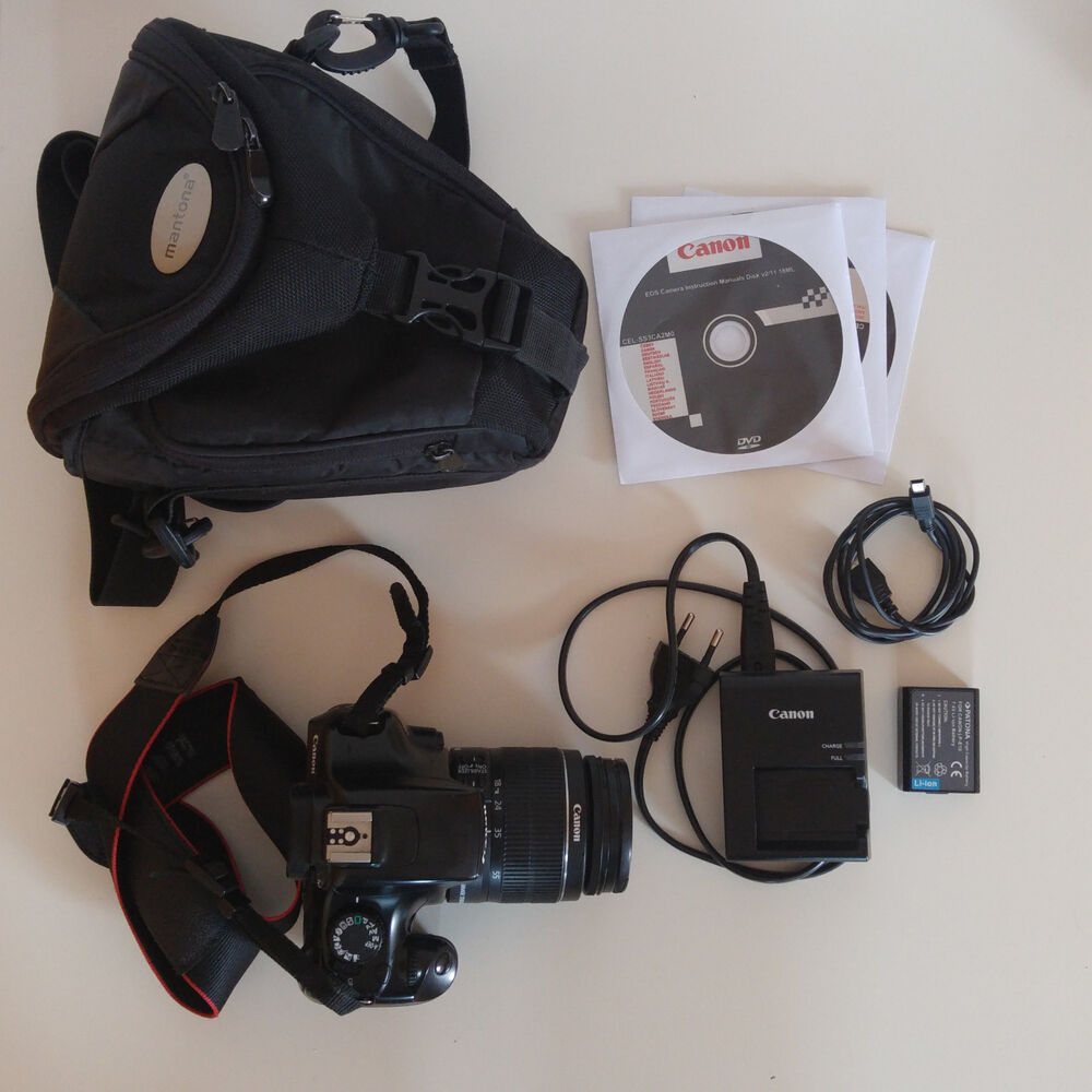 canon eos 1100d spiegelreflexkamera kit mit ef s 18 55 mm objektiv ebay. Black Bedroom Furniture Sets. Home Design Ideas