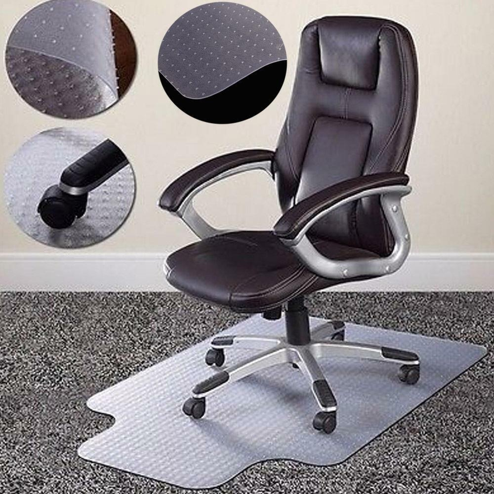 New 36 Quot X48 Quot Chair Pvc Floor Mat Home Office Studded Back