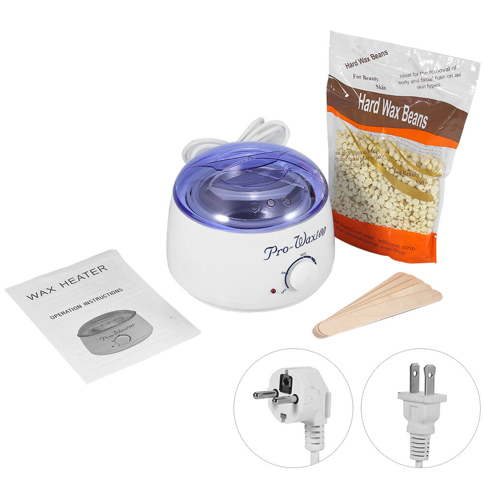 how to clean hair removal wax machine