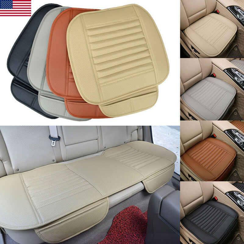 5 seats set car seat cover breathable pu leather pad mat for auto chair cushion ebay. Black Bedroom Furniture Sets. Home Design Ideas