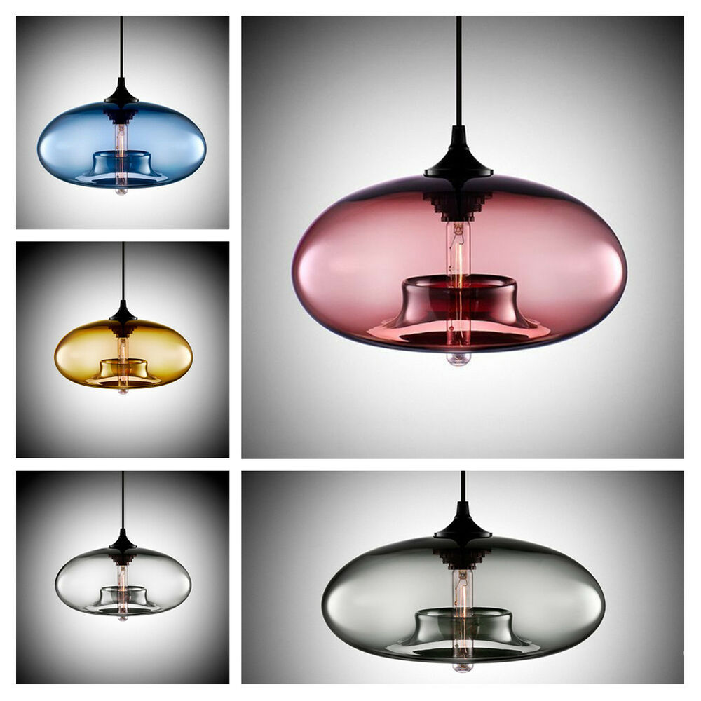 Diy ceiling lamp crystal clear glass cover pendant for Homemade ceiling lamp