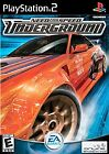 NEED FOR SPEED UNDERGROUND: PLAYSTATION 2, Playstation 2 Video Game