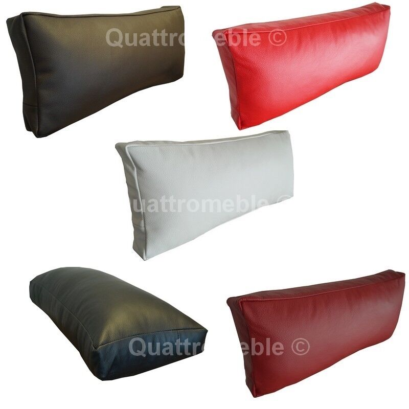 neck cushions real genuine italian leather pillows sofa