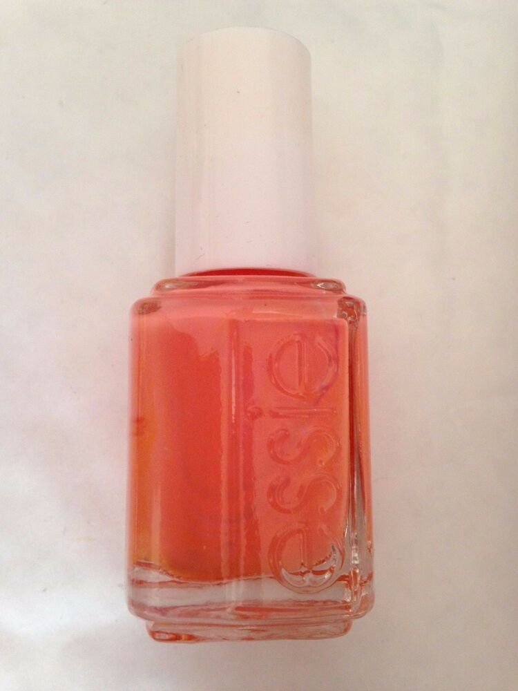Essie tart deco  Nail Polish blood peach coral orange  shade cream varnish 15ml  | eBay