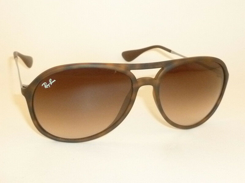 3983245dad New Ray Ban ALEX Sunglasses Tortoise Frame RB 4201 865 13 Gradient Brown  Lenses