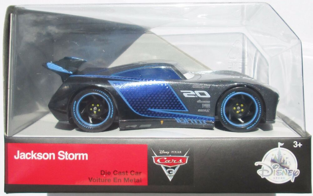 Disney Pixar Cars 3 Jackson Storm Larger 1 43 Scale