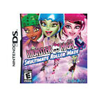 NEW Monster High Skultimate Roller Maze Nintendo DS E-Everyone Brand New Sealed