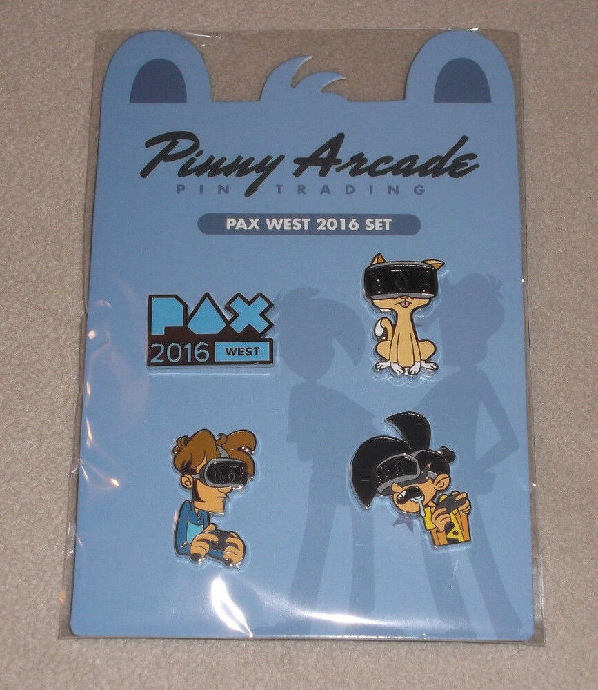 Pinny Arcade Pax West Prime 2016 Pin Set Fast Shipping Core Rare Overall Limited East Ebay