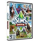New Sealed The Sims 3: Pets Expansion Pack Win/MAC DVD-ROM Software, PC game