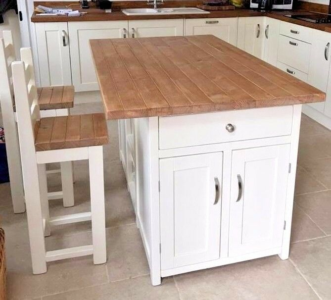 stools for kitchen island bespoke made kitchen island with 2 stools made to 5849