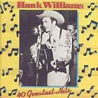 40 Greatest Hits by Hank Williams (CD 1988 2-Discs Polydor) West Germany Import