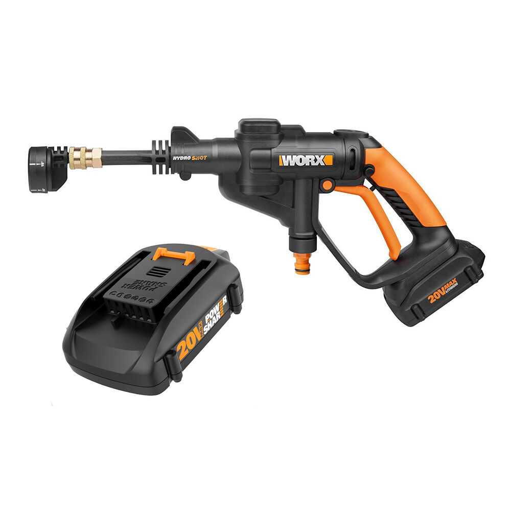Worx Hydroshot 20v 320 Psi Cordless Pressure Washer Power