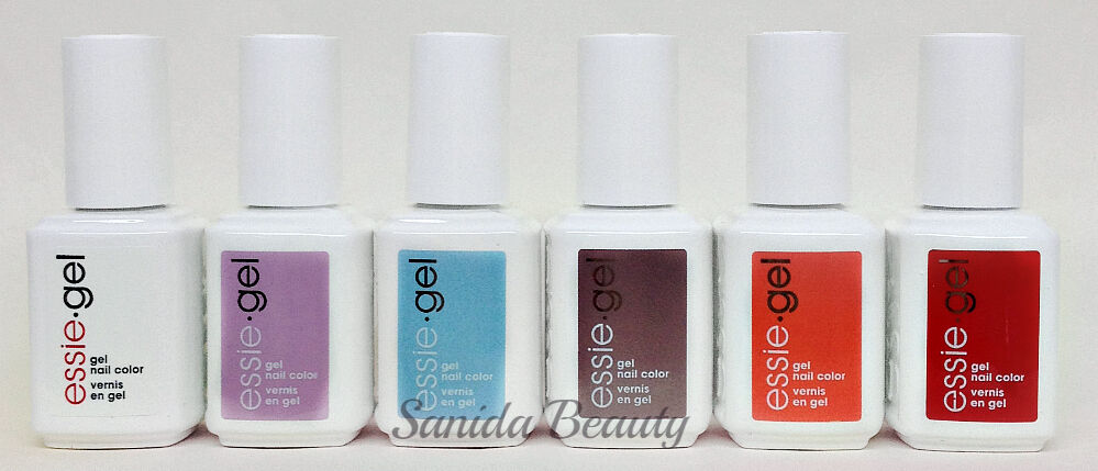 ESSIE GEL LED Soak-Off - S\'IL VOUS PLAY Summer 2017 - All 6 Shades ...