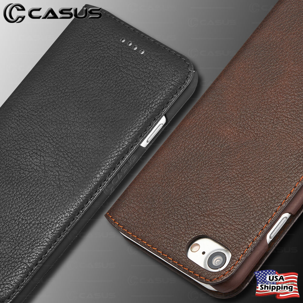 iphone case wallet iphone x amp 8 7 6 plus slim genuine leather wallet card 11714
