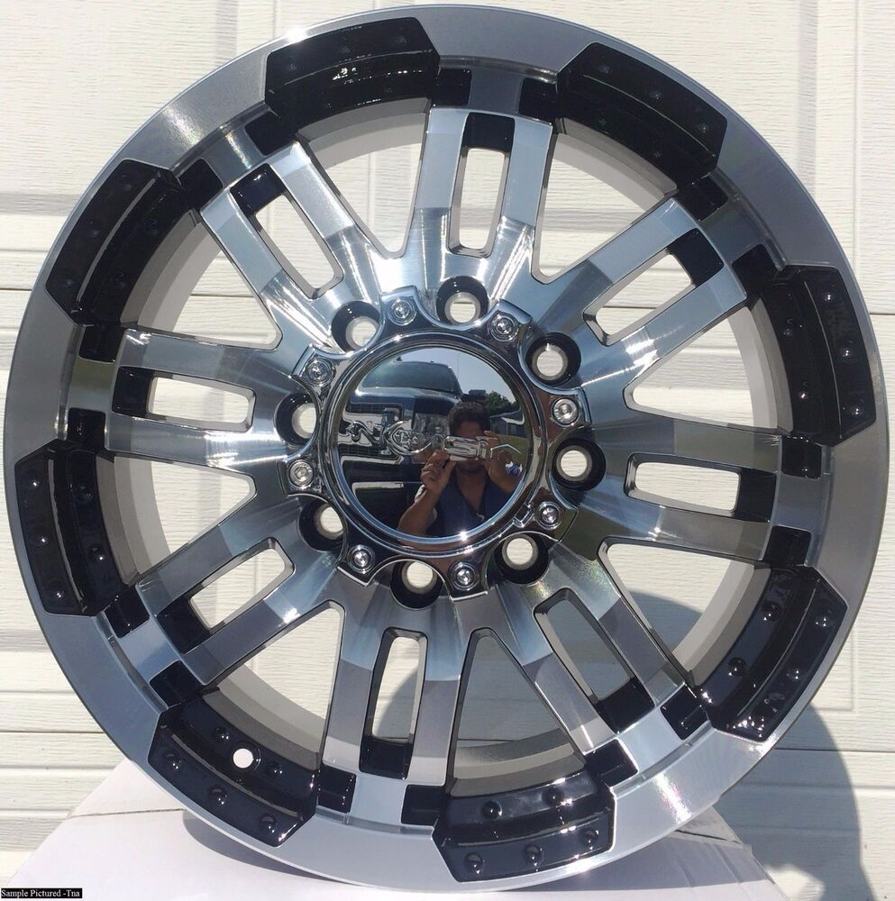 4 New 17 Quot Wheels Rims For Chevy Suburban 2500 2001 2002
