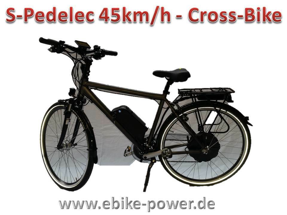 s pedelec trekkingrasd ebike 45 28 s pedelec 45km h e. Black Bedroom Furniture Sets. Home Design Ideas