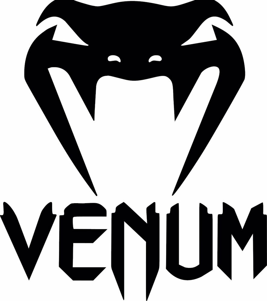 Venum Ufc Logo Vinyl Decal Sticker Mma Mixed Martial Arts