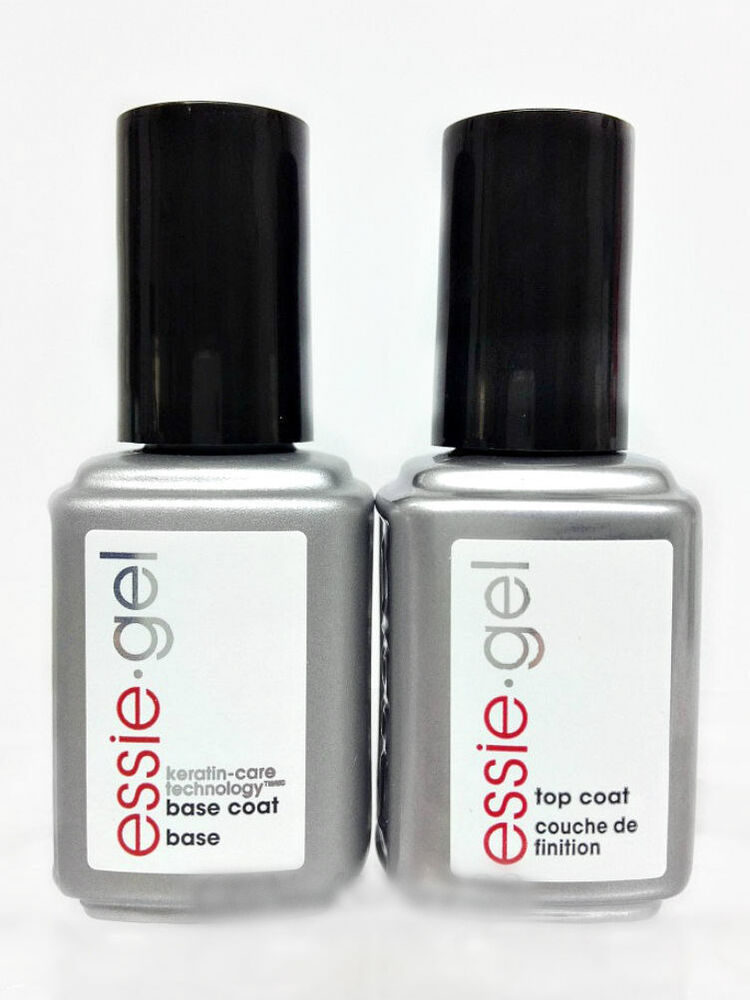 Essie Gel Base Amp Top Coat Combo Uv Led Gel Polish 12 5ml 42oz Ebay