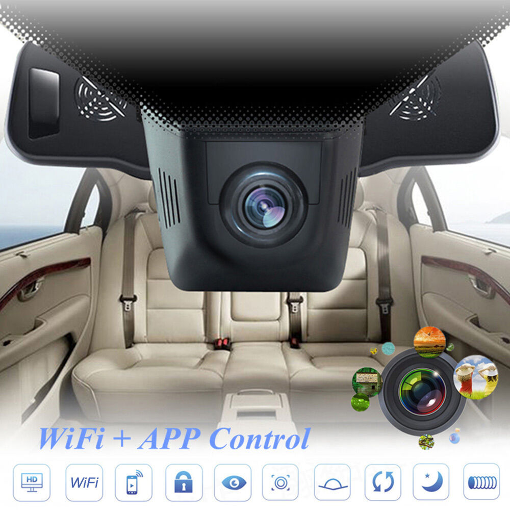 hidden car hd 1080p wifi dvr vehicle camera video recorder dash cam night vision ebay. Black Bedroom Furniture Sets. Home Design Ideas