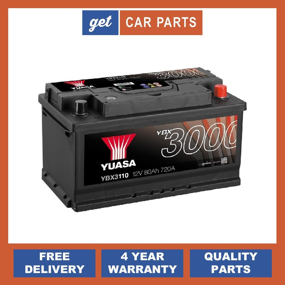 110 Titanium Car Battery 12V 80Ah 640CCA