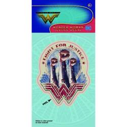 Wonder Woman Fight For Justice Decal Red