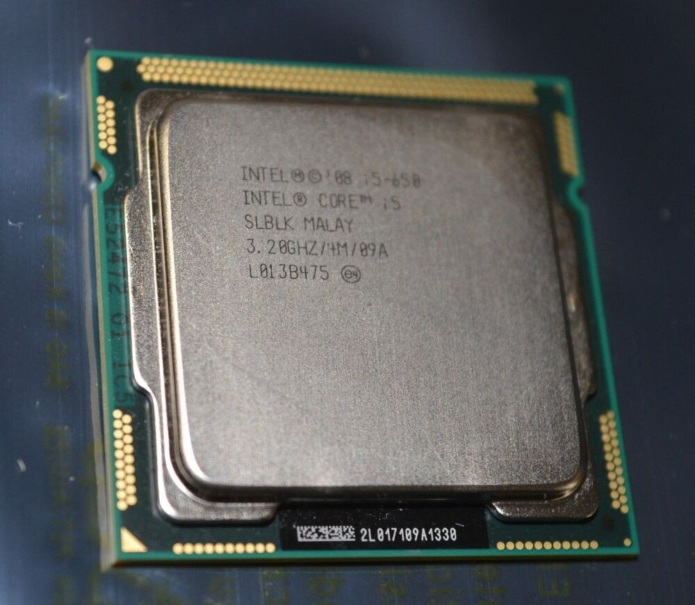Intel Core i5 650 - 3.2 GHz Dual-Core s.1156 UNBOXED CPU ONLY | eBay