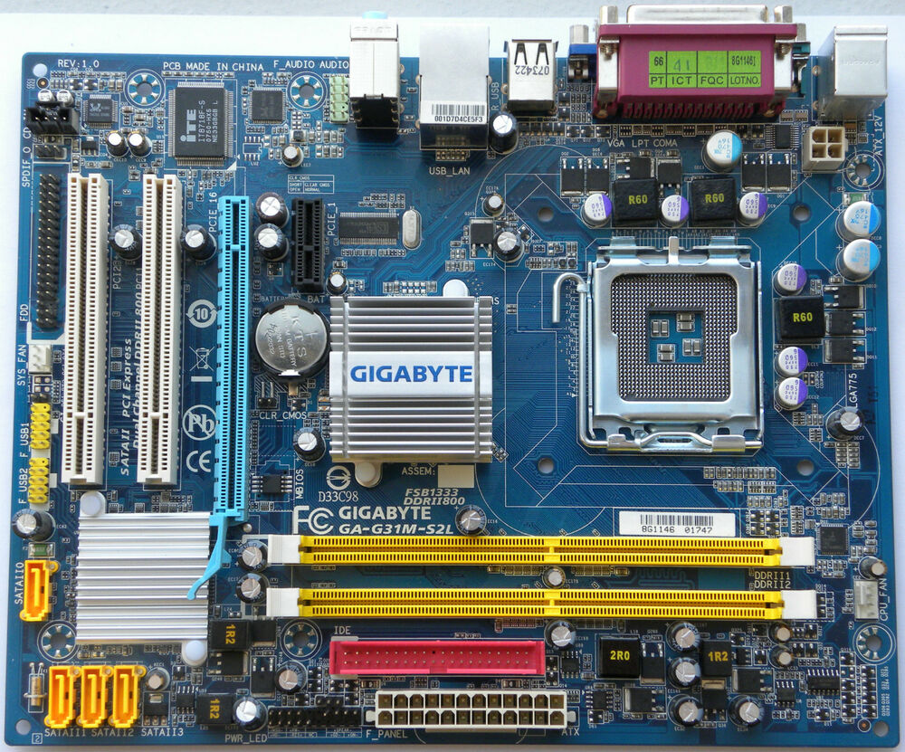 Can t install sound drivers on a Gigabyte GA-G31M-S2L