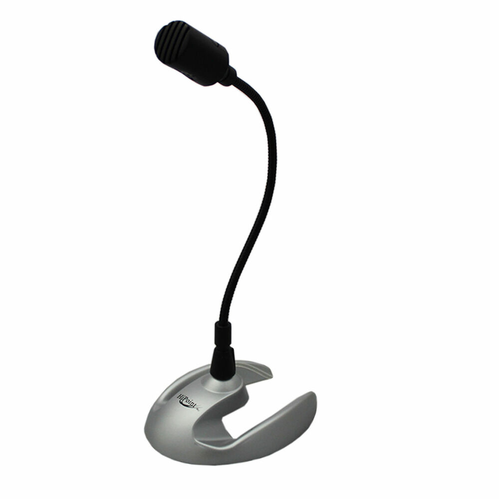 Microphone For Computer Desktop : Desktop microphone mic for pc computer laptop black mm