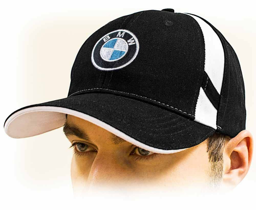bmw baseball cap bmw m power unisex hat black adjustable size with m logo ebay. Black Bedroom Furniture Sets. Home Design Ideas