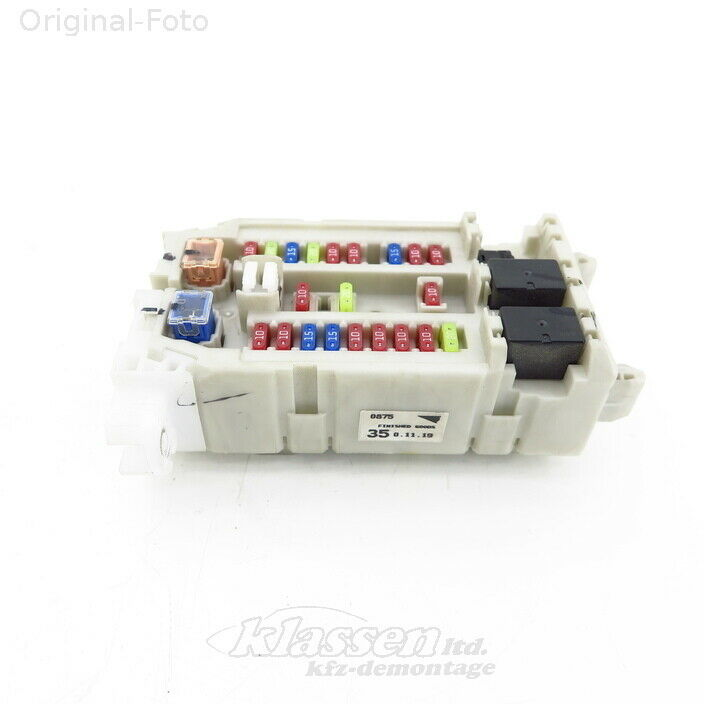 details about fuse box isuzu d-max 8dh 3 0 ditd 01 07- 8973092930