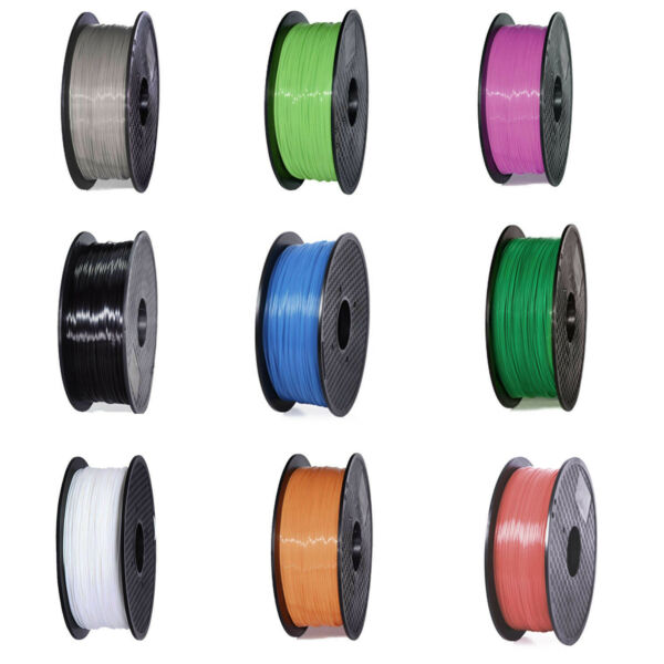 3D Printer Filament PLA 1.75mm - 1Kg- multiple For MakerBot Colours FR