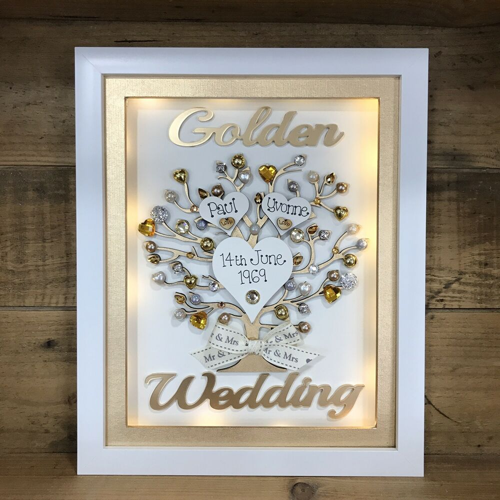 Gift For Ruby Wedding Anniversary: BOXED FRAME SCRABBLE LETTERS GOLDEN PEARL SILVER RUBY