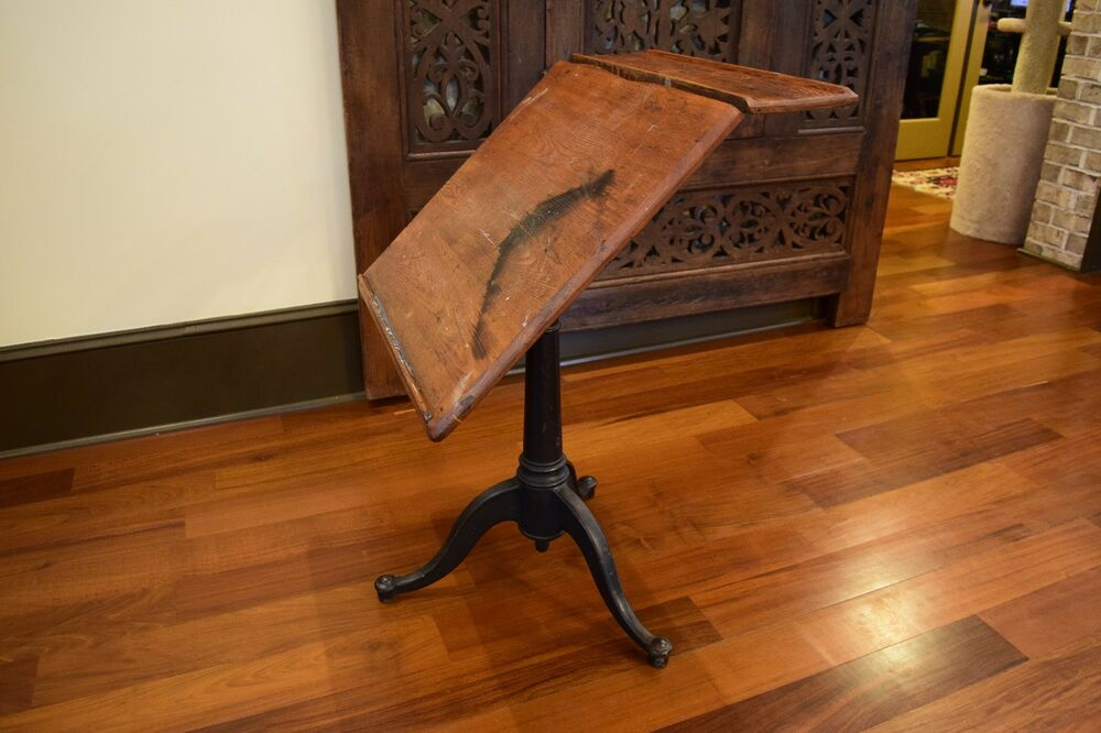 The Washburn Shops Art / Drafting Table. Antique, vintage, industrial. - Antique Drafting Table EBay