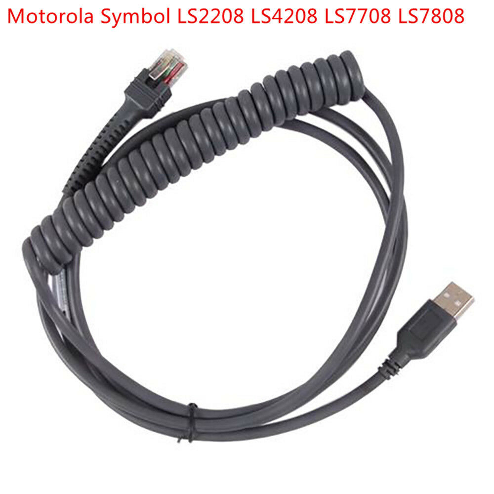 Motorola symbol ls2208 ls4208 ds9208 barcode scanner usb to rj45 motorola symbol ls2208 ls4208 ds9208 barcode scanner usb to rj45 coiled cable ebay biocorpaavc