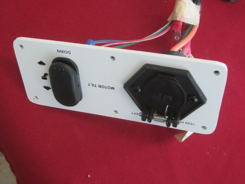 s l1000 th marine nautic star boat co trolling motor trim switch nstmt ebay  at gsmportal.co