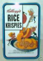Ornaments Rice Krispies Kellog's Cereal Tree Xmas Holiday Gift Kelloggs Rare Tin
