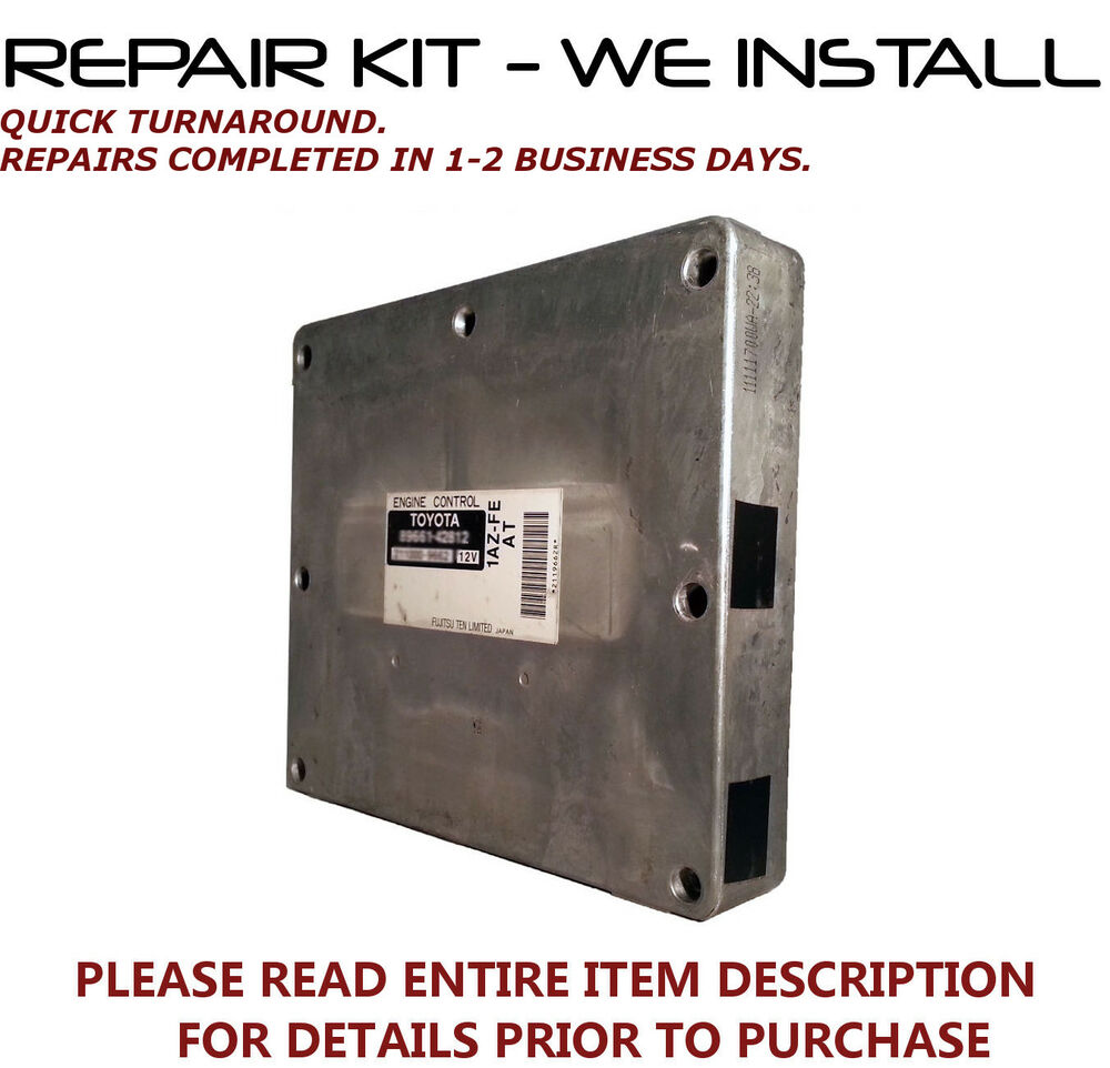 Toyota Rav4 Engine Computer Repair 1 One Word Quickstart Guide Book Diagram Kit Fits 2001 2002 2003
