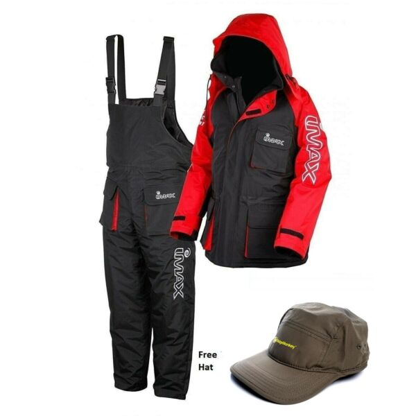 IMAX Thermo Suit With FREE HAT *All Sizes* NEW Sea Fishing Two Piece Suit