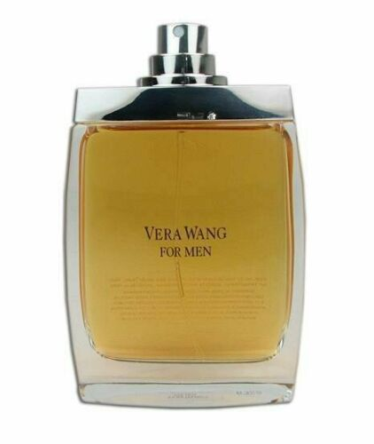 VERA WANG Men 3.4 oz EDT eau de toilette Spray Cologne Tester 100 ml New 3.3
