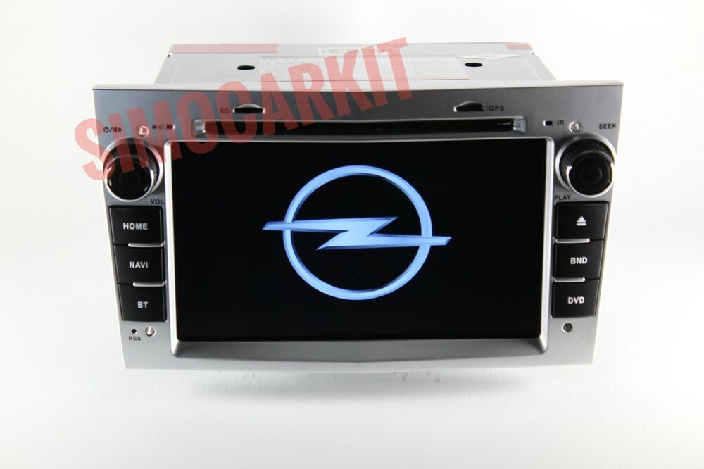 autoradio argento per opel astra antara vectra corsa meriva zafira stereo grigio ebay. Black Bedroom Furniture Sets. Home Design Ideas