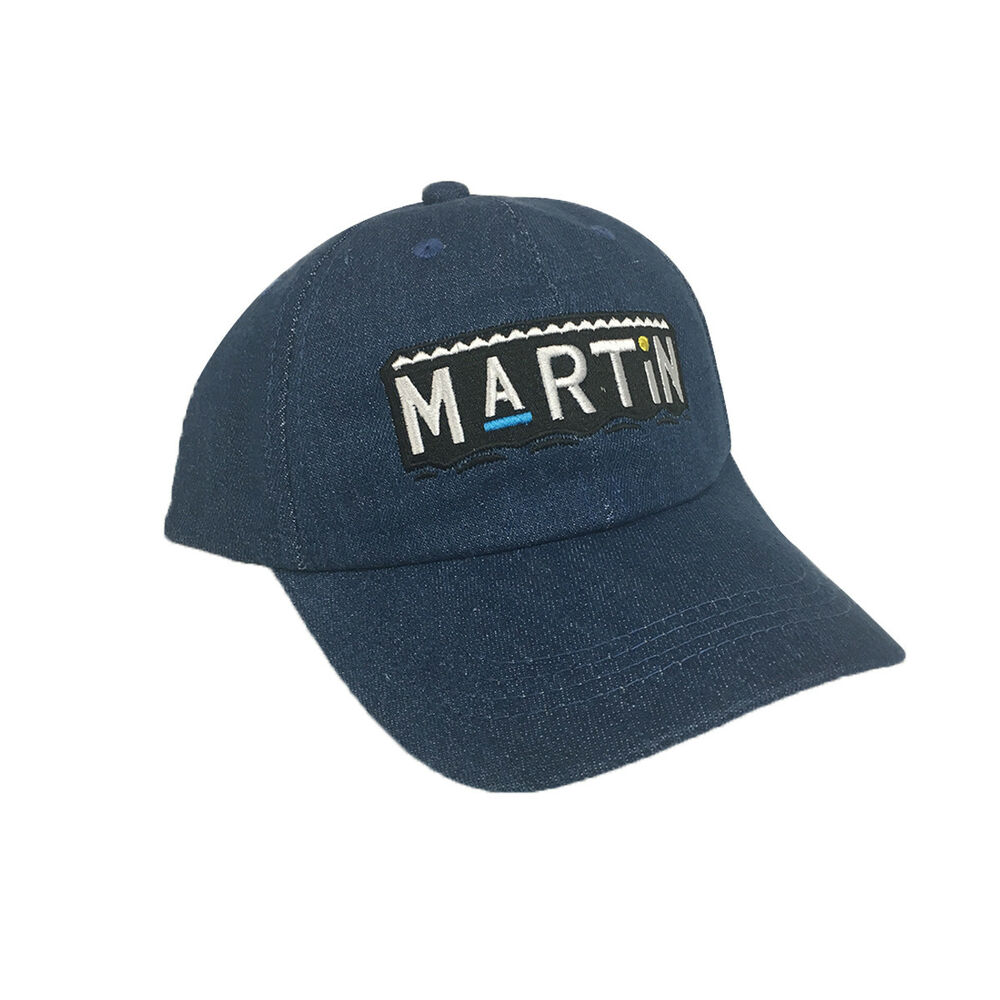 Details about Martin Blue Denim Hat Baseball Cap Buckle Dad TV Show 90s  Costume Lawrence Payne 2f197793e8c