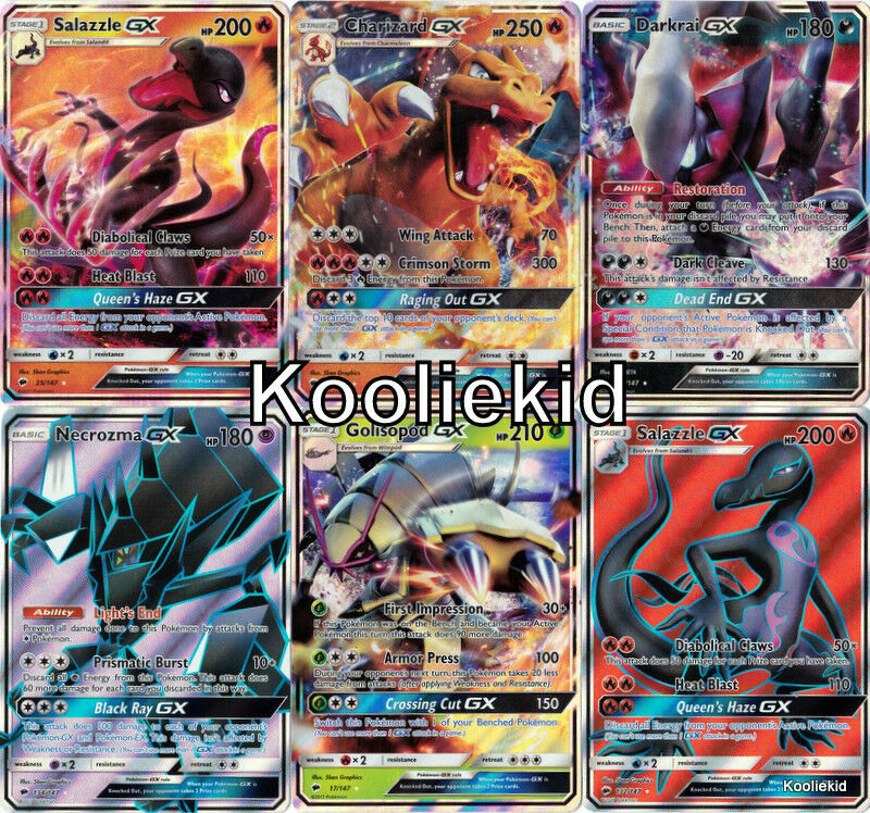 NEW Sun & Moon BURNING SHADOWS GX / PROMO / HOLO / RARE
