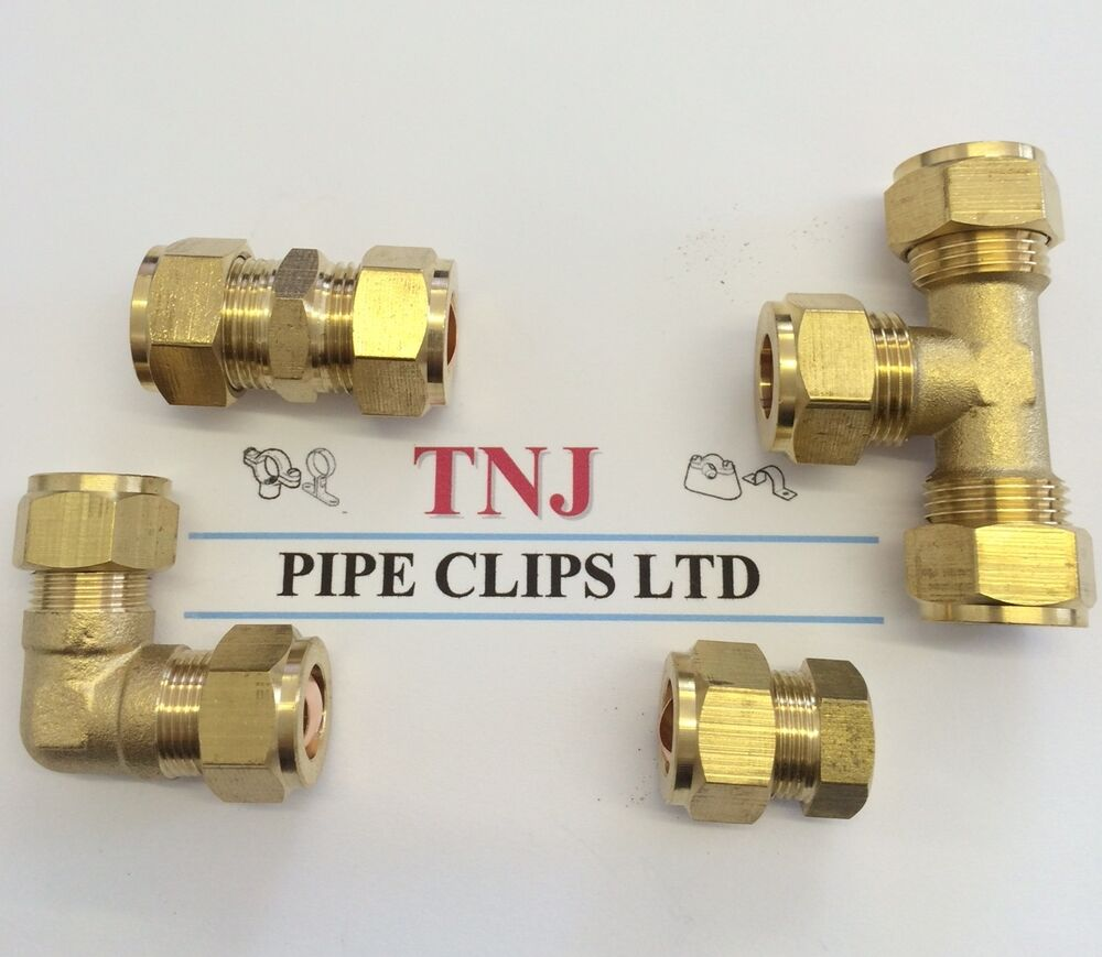6mm 28mm brass compression fittings straight elbow tee. Black Bedroom Furniture Sets. Home Design Ideas